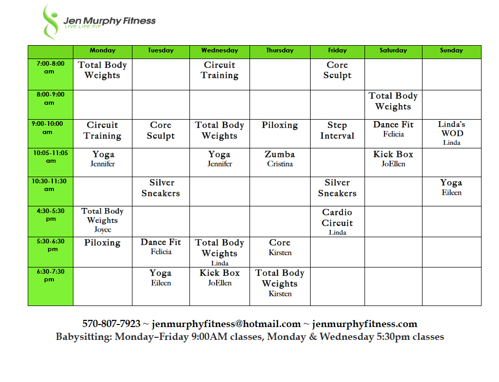 New Schedule for February Creates Back to Back Workouts